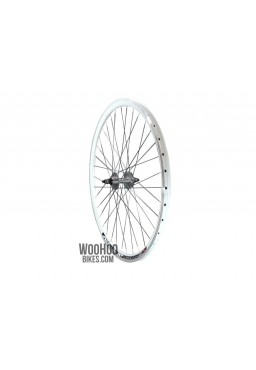 JOYTECH Rear Wheel 30mm Fixed Gear, Fix, White