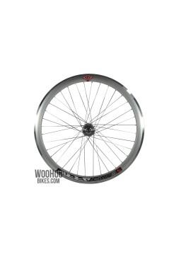 JOYTECH Front Wheel 43mm Fixed Gear, Fix, Silver